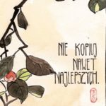 Artysto, nie kopiuj nawet najlepszych (inspir. Hiroshige)